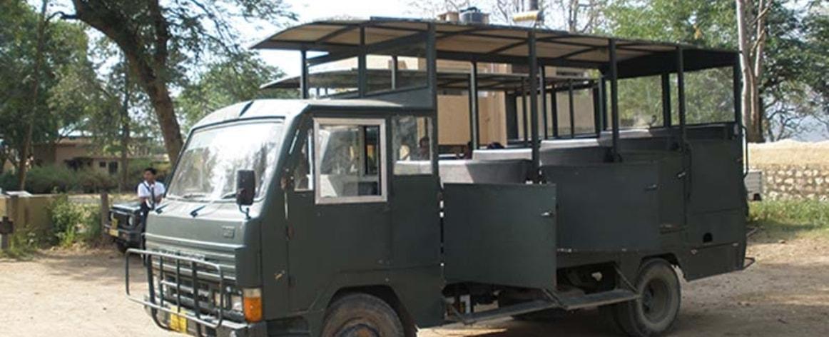 Dhikala Canter Safari booking, Canter Safari in Jim Corbett
