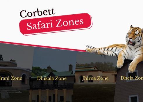 Corbett Safari Zones