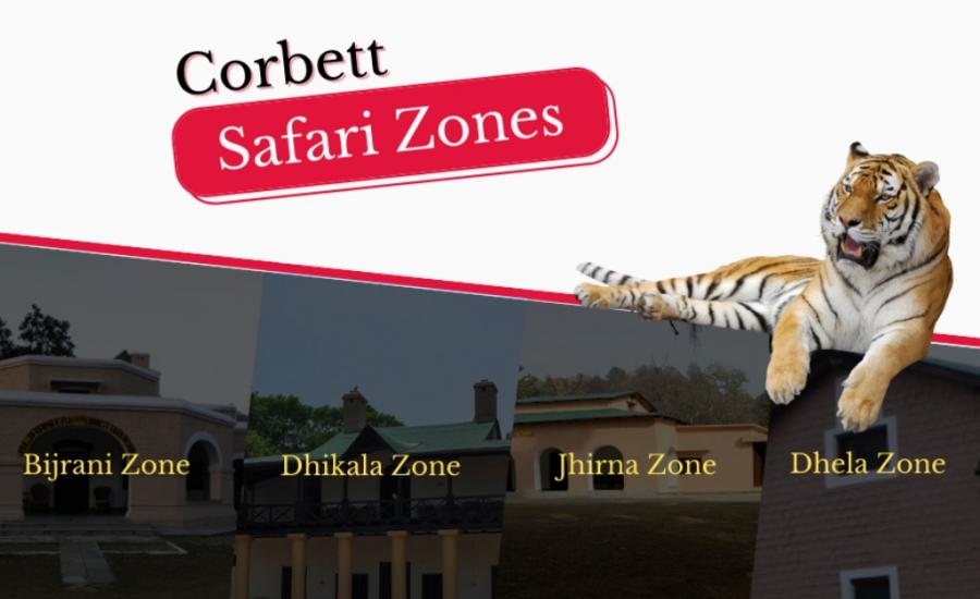 Corbett Safari Zones
