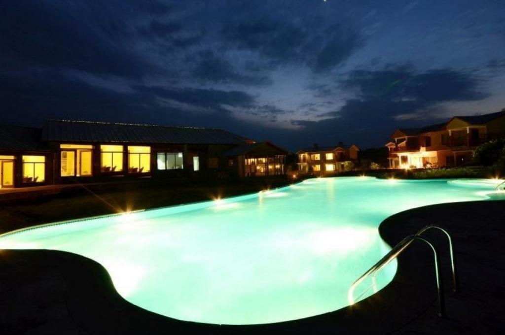 Aahana Night Pool View
