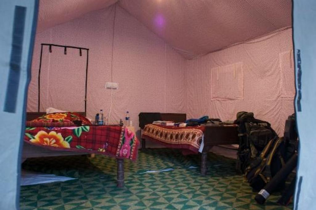 Corbett Motel Inside Camp